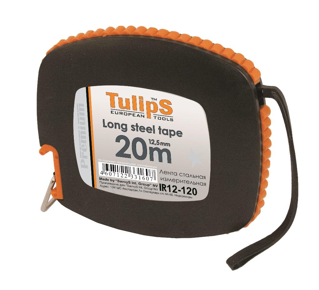 Рулетка Tulips tools Ir12-120 от 220 Вольт