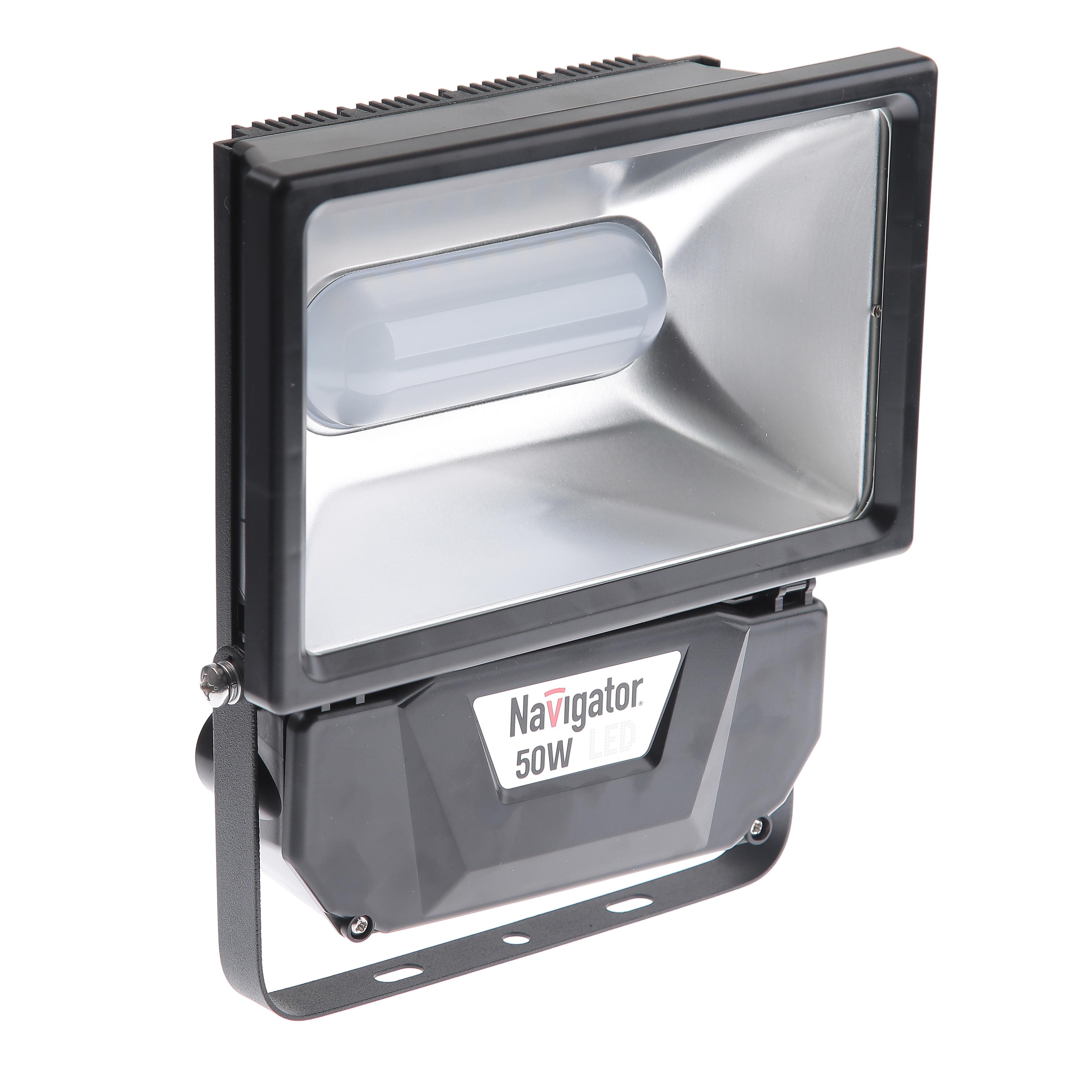 Светодиодный прожектор Navigator 94 641 nfl-p-50-4k-bl-ip65-led