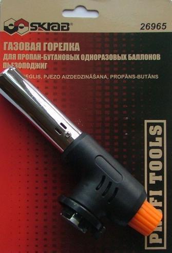 Паяльная лампа газовая Skrab 26965