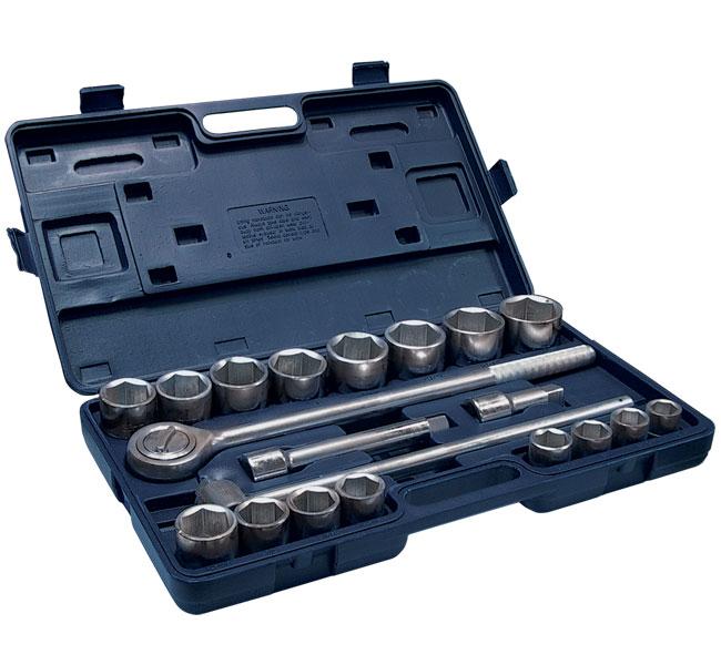 Набор автомобильных торцевых головок с принадлежностями, 20 предметов Santool 110301-021