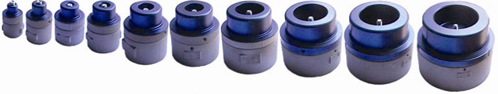 Насадка парная для аппарата для сварки труб, 63 мм. Dytron 02333