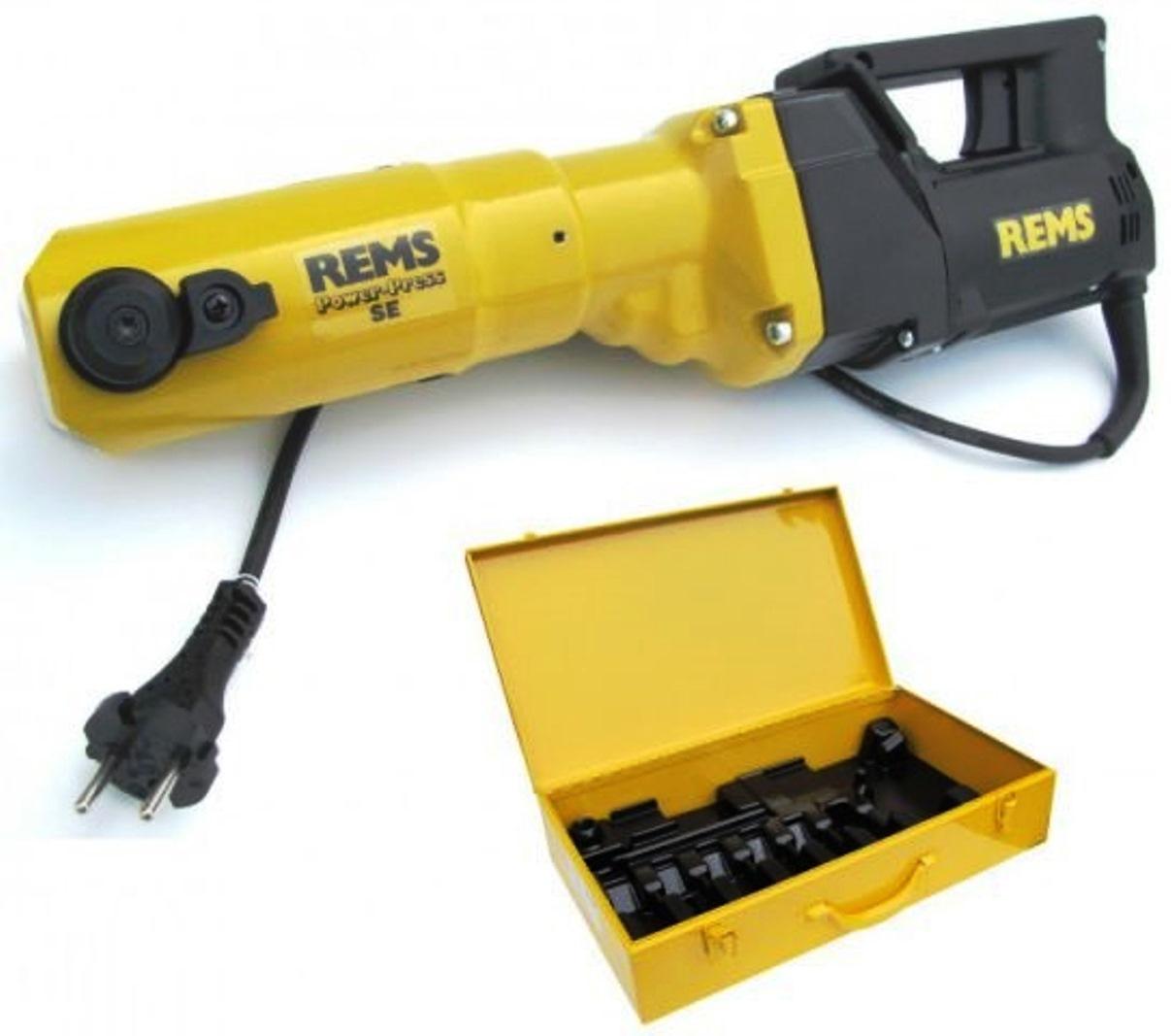 Пресс-клещи для металлопластиковых труб Rems Пауер-Пресс se 572111