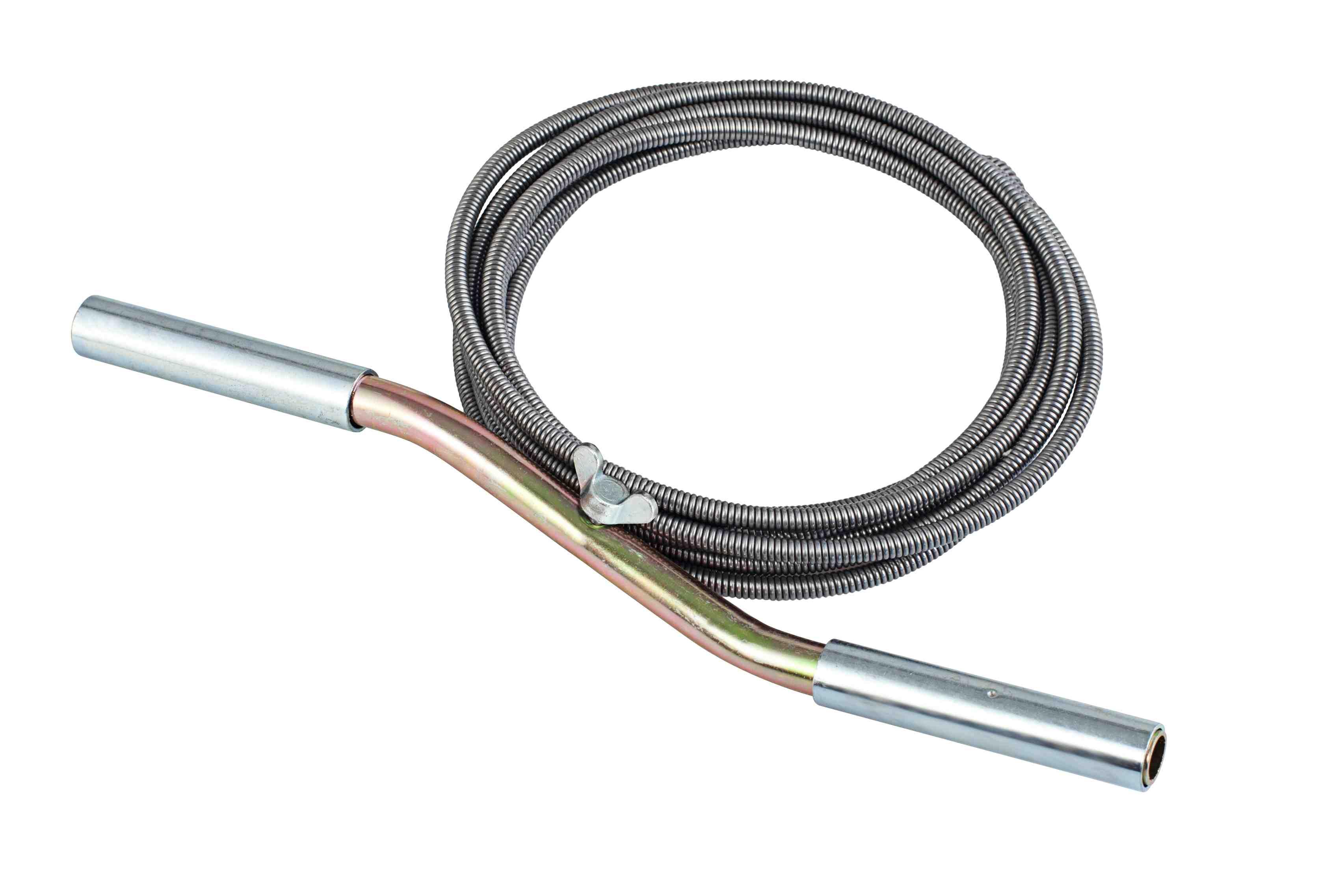 Трос для прочистки ДОМОЧИСТ ТС6-2 от 220 Вольт