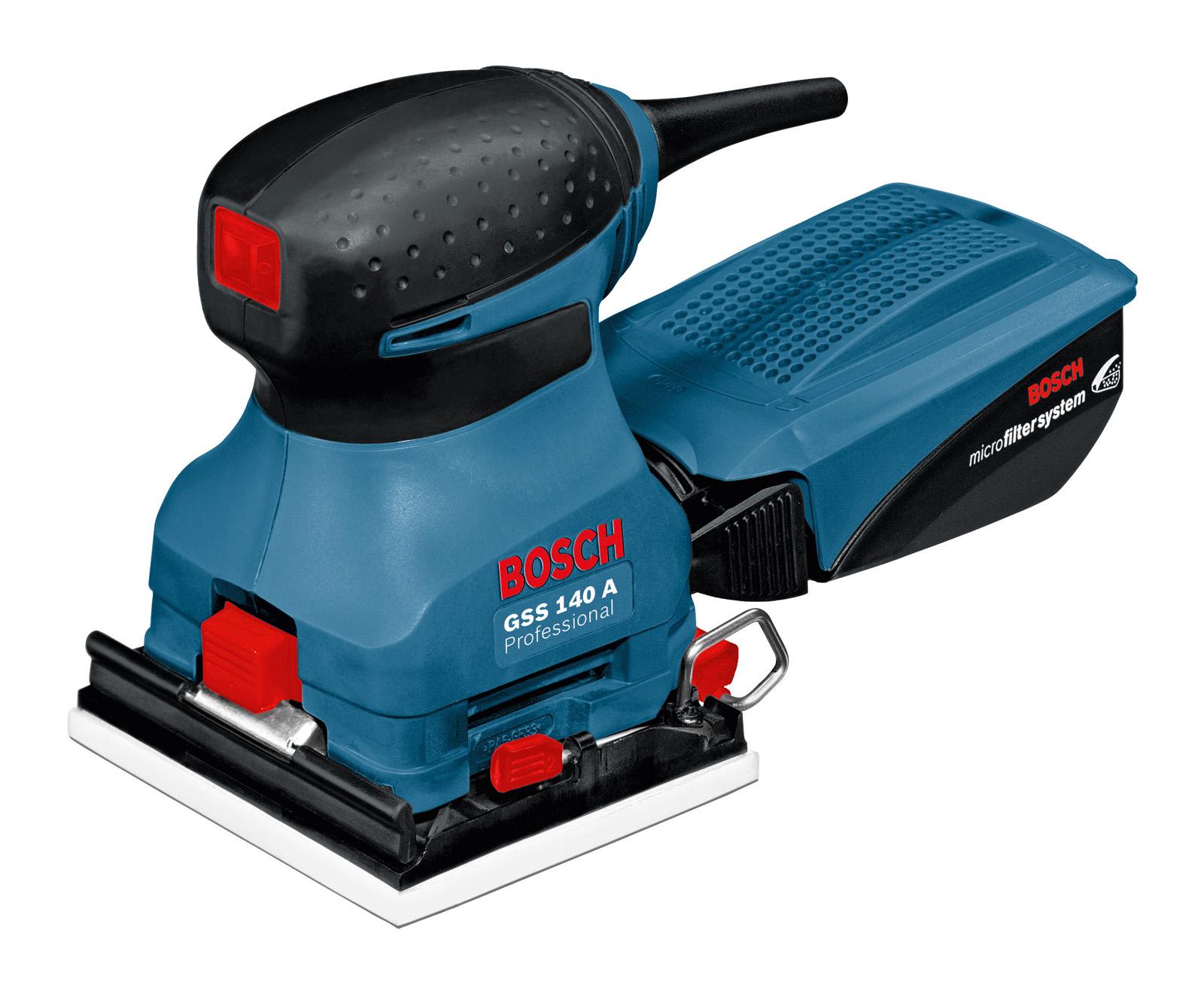 Машинка шлифовальная плоская (вибрационная) Bosch Gss 140 a