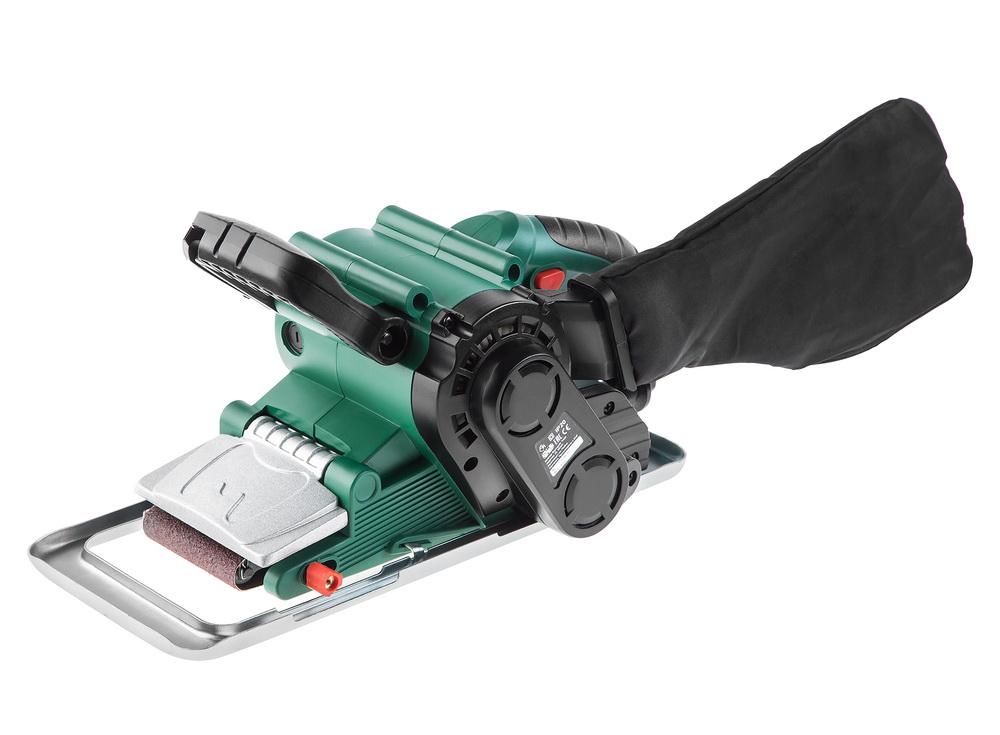 Машинка шлифовальная ленточная Hammer Lsm800b