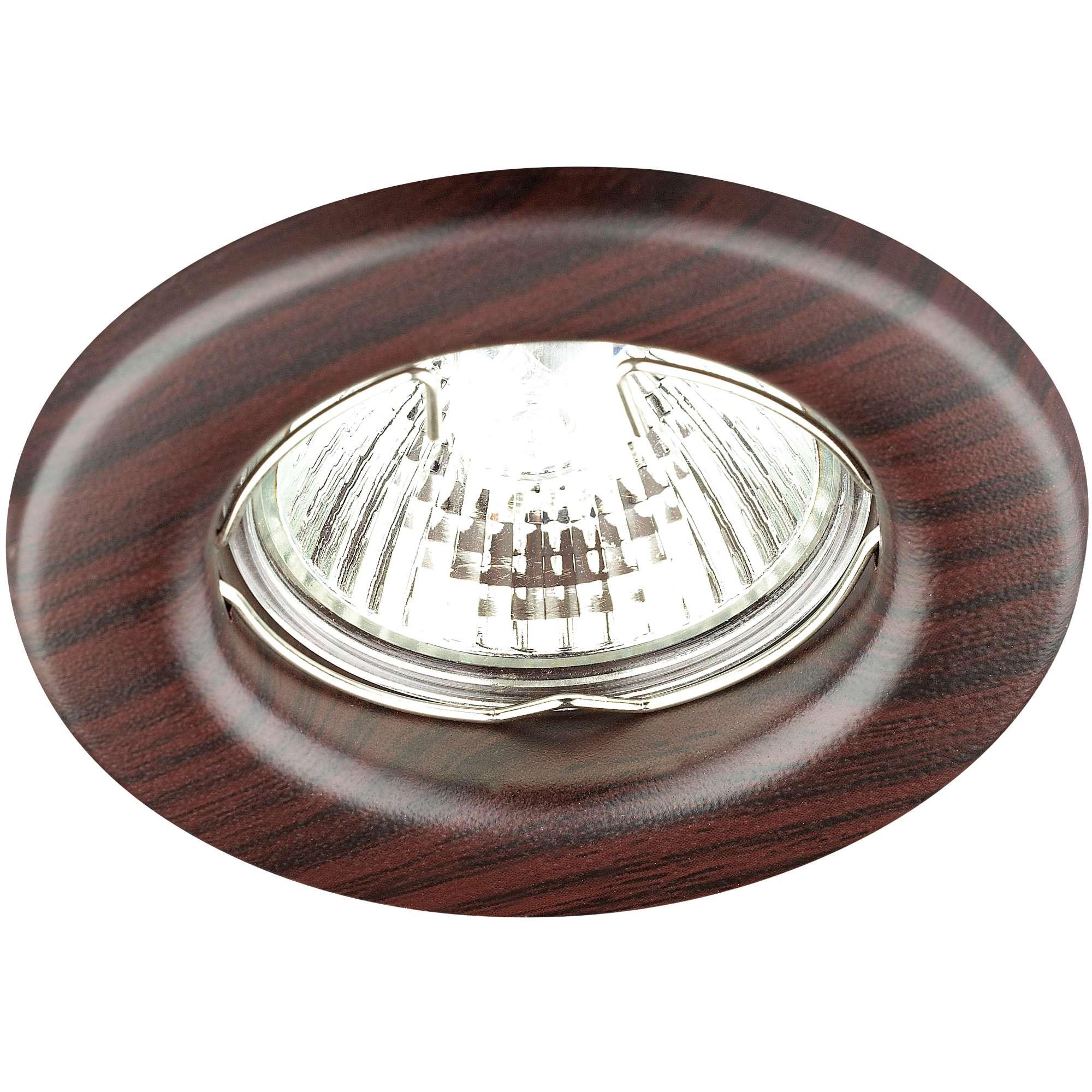 Светильник встраиваемый Novotech Wood  nt12 156 369715