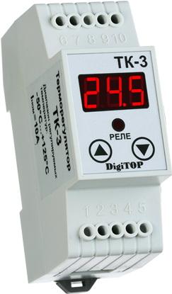 Терморегулятор Digitop ТК-3