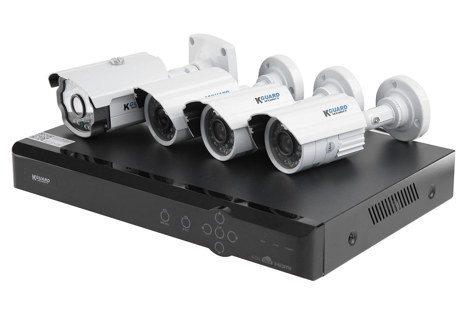 Комплект видеонаблюдения Kguard Aurora ar421-ckt001