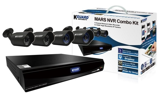 Комплект видеонаблюдения Kguard Mars mr-4040