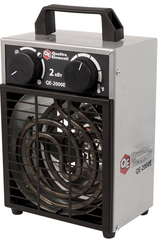 Электрическая тепловая пушка Quattro elementi Qe-2000Е new