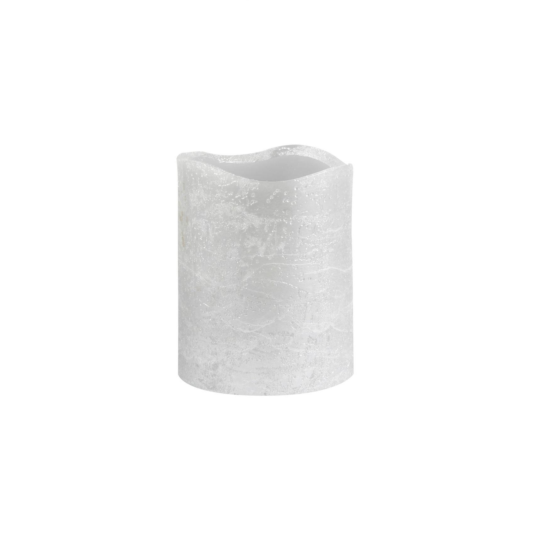 Светильник декоративный Ranex Свеча 100 мм янтарь с серебром