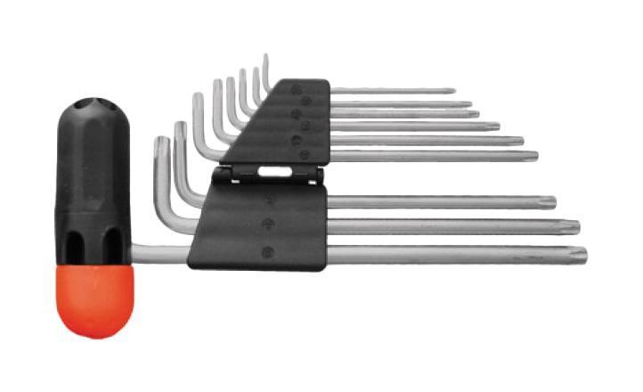 Набор торцевых ключей-звездочка torx Fit 64027