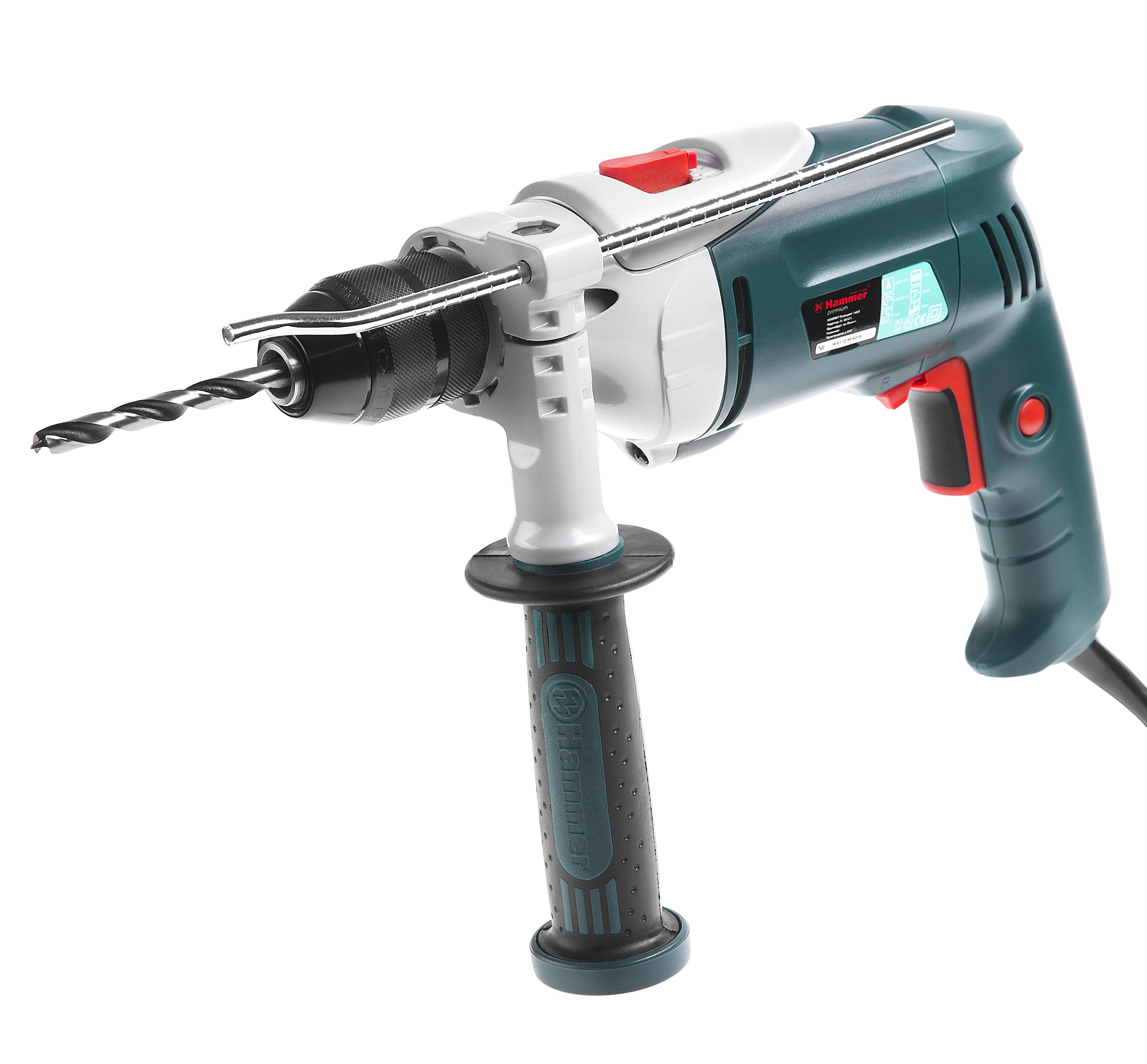 Дрель ударная Hammer Udd710С premium