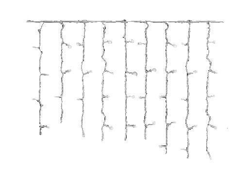 Светодиодная бахрома-гирлянда Uniel Uld-b3010-200/dta white