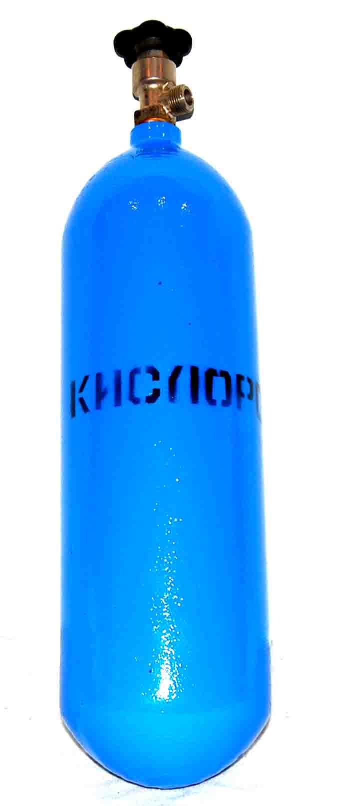 Баллон БАРС кислородный  5 л  (новый, пустой)