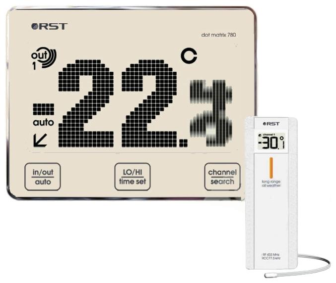 Термометр Rst 2780