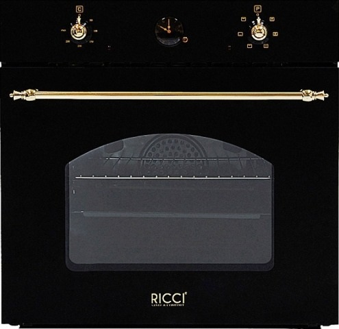 Духовка электрическая Ricci Reo 6030bl