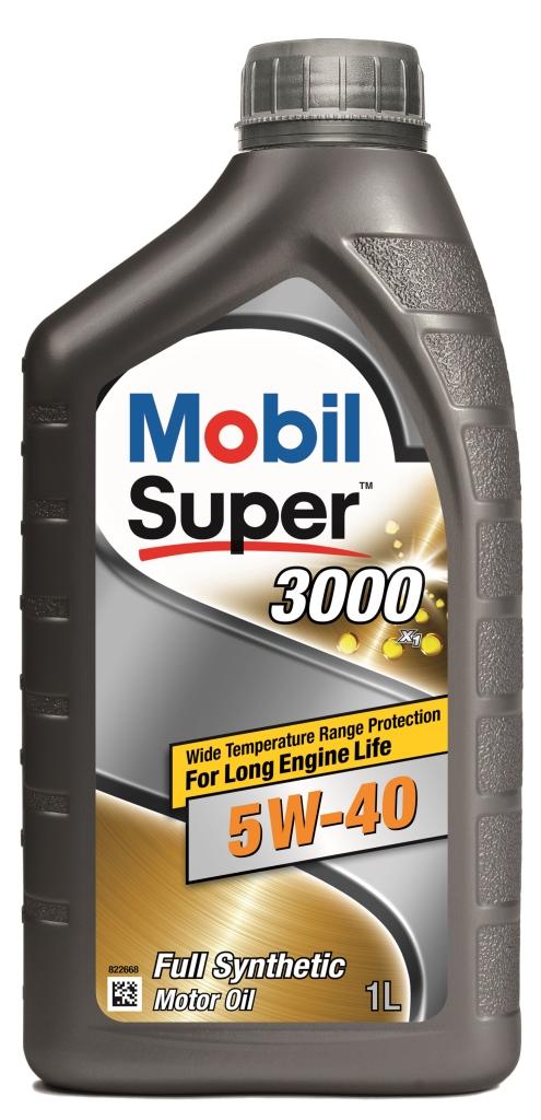 Масло моторное Mobil Super 3000 x1 5w-40 (кан1л) (синтетическое)