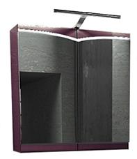 Шкаф с зеркалом Edelform Конкорд 65 махагон