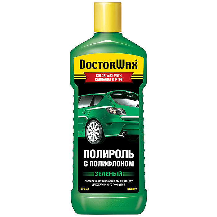Полироль Doctor wax Dw8449