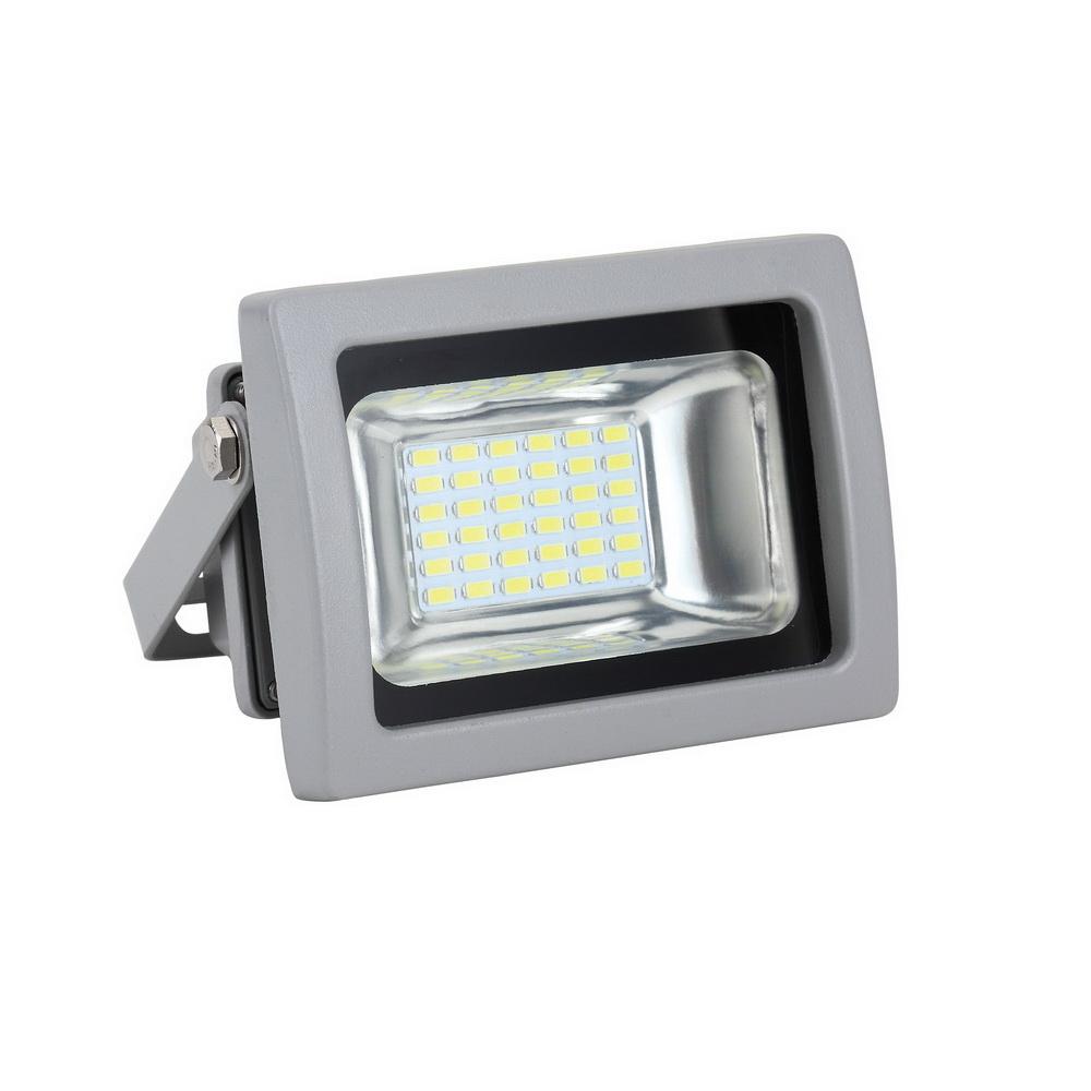 Прожектор светодиодный Uniel Ulf-s04-10w/blue ip65 85-265В grey