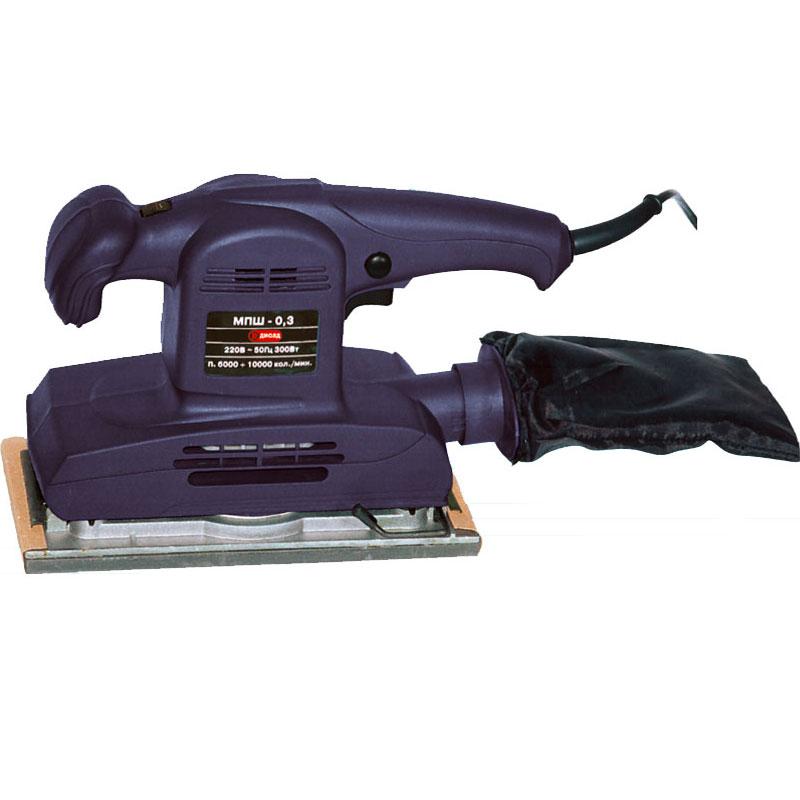 Машинка шлифовальная плоская (вибрационная) ДИОЛД МПШ-0,3