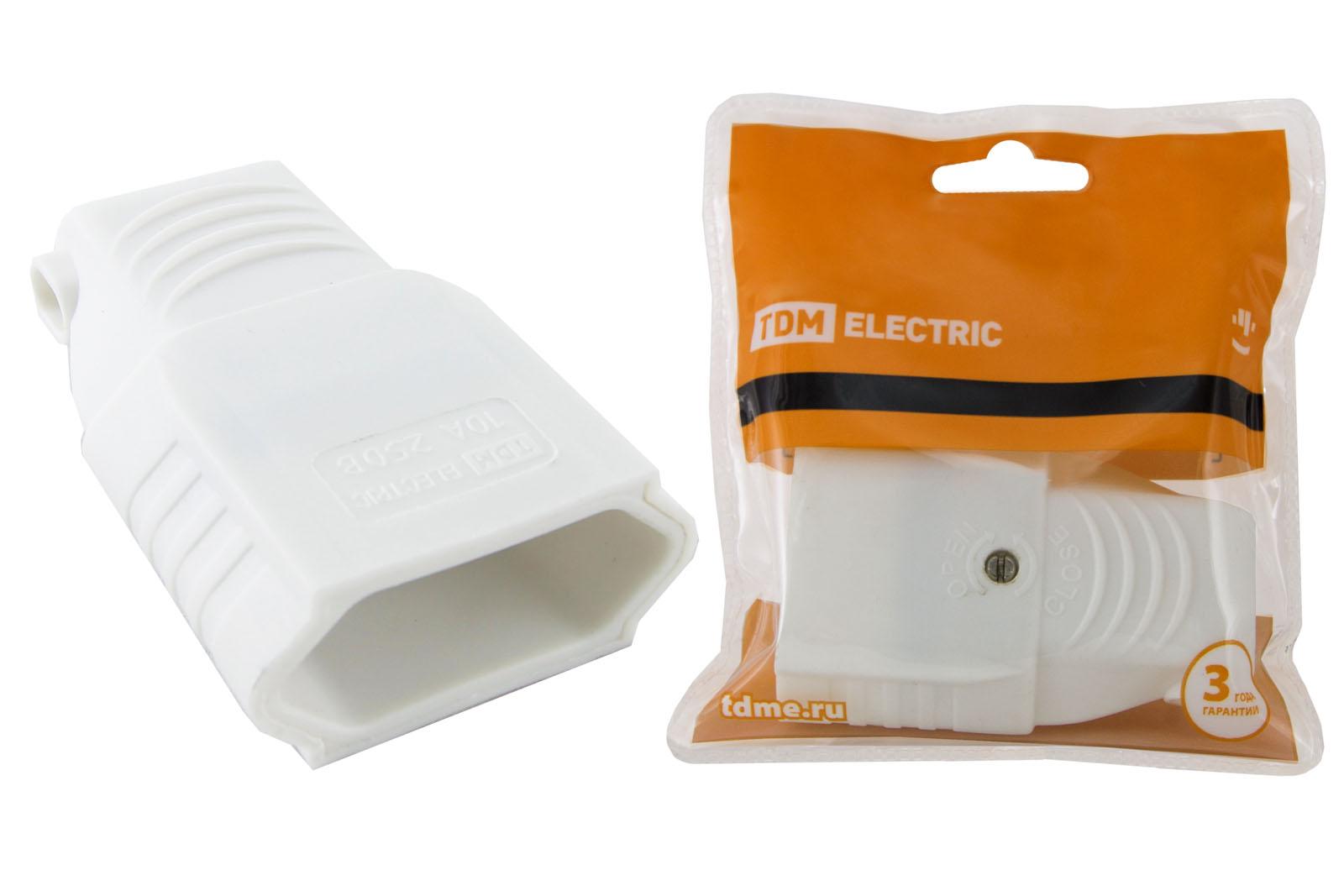 Розетка кабельная ТДМ Sq1806-0092