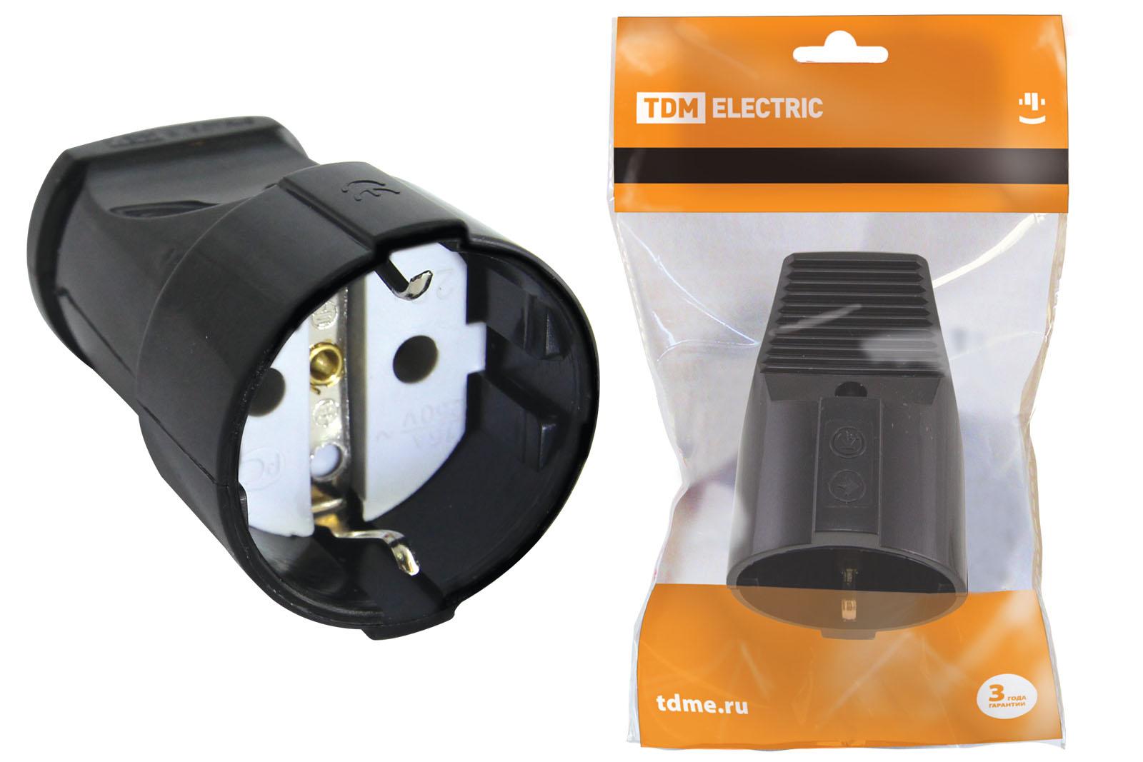 Розетка кабельная ТДМ Sq1806-0032