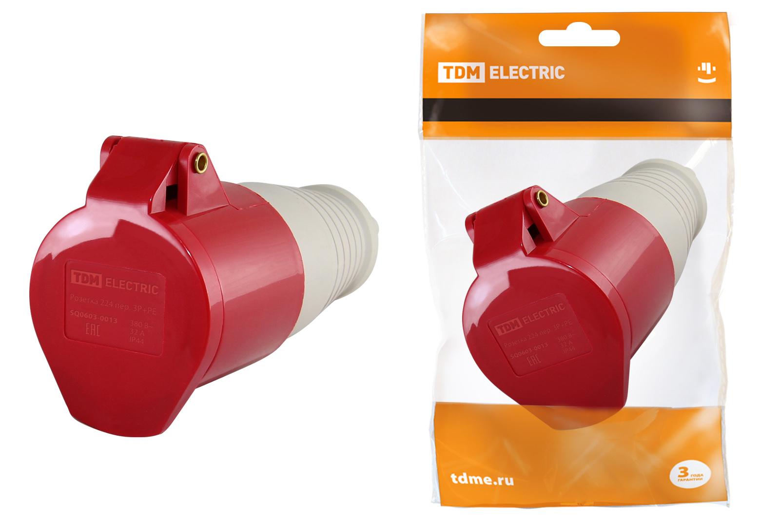 Розетка кабельная ТДМ Sq0603-0013