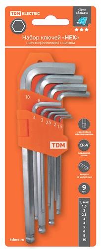 Набор ключей ТДМ Sq1020-0104 Алмаз