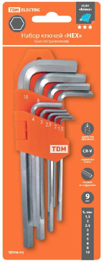 Набор ключей ТДМ Sq1020-0103 Алмаз
