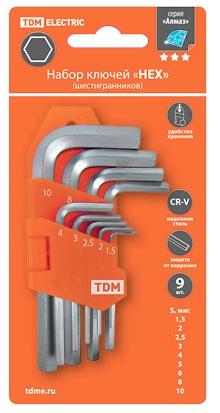 Набор ключей ТДМ Sq1020-0101 Алмаз