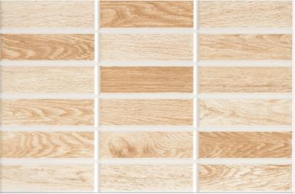 Плитка облицовочная Intercerama 233551031 madera Светло-коричневый
