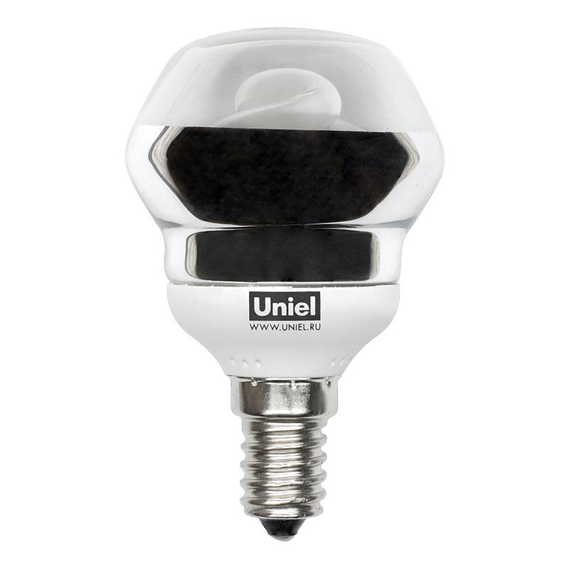 Лампа энергосберегающая Uniel Esl-rm50 cl-9/2700/e14