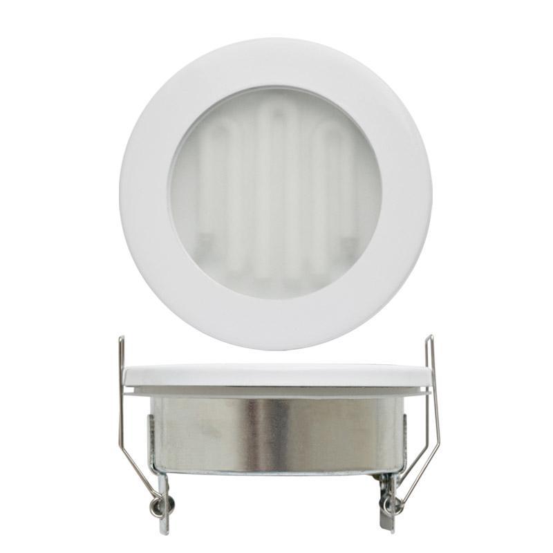 Светильник встраиваемый Uniel Gx53-9/2700/Н5 Белый