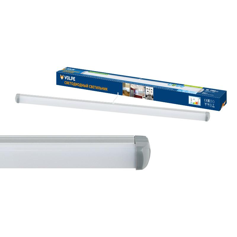 Светильник настенно-потолочный Volpe Ulo-q141 al60-18w/nw silver