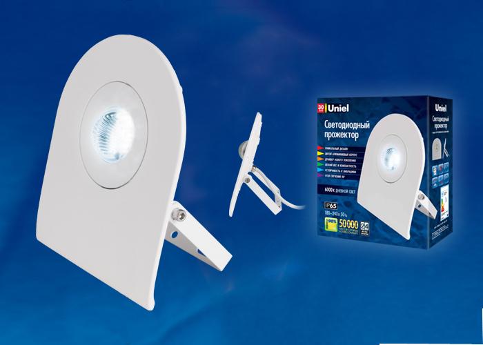 Прожектор светодиодный Volpe Ulf-f10-50w/dw ip65 180-240В white