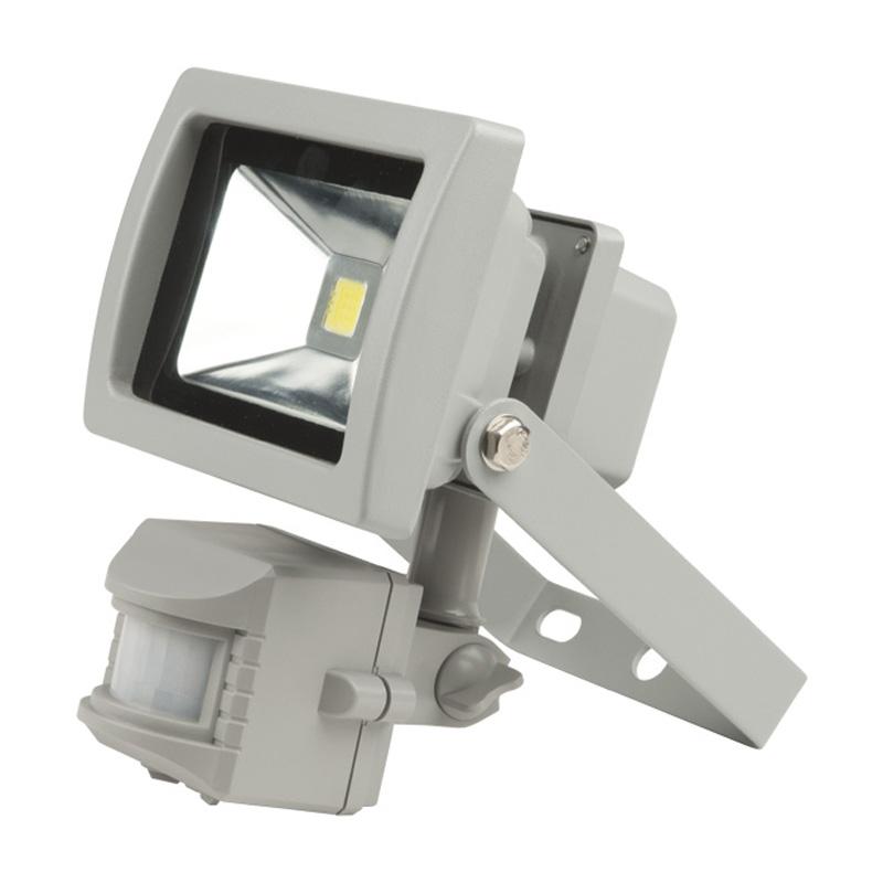 Прожектор светодиодный Uniel Ulf-s21-10w/dw sensor ip54 110-240В