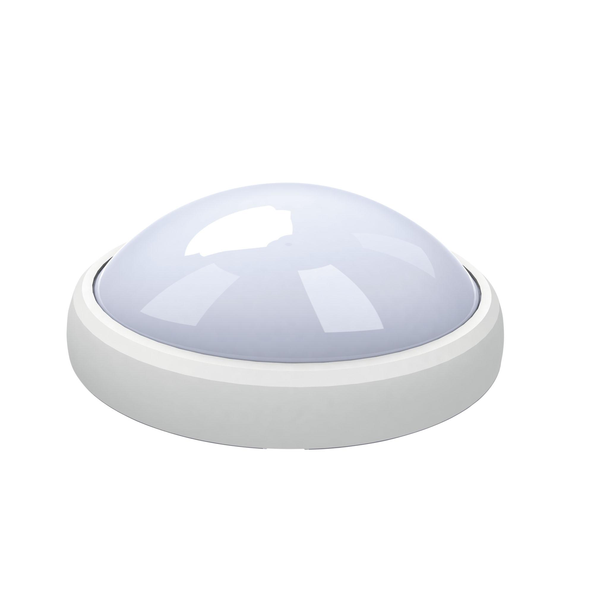 Светильник настенно-потолочный Uniel Ulw-o03-8w/nw ip65 white
