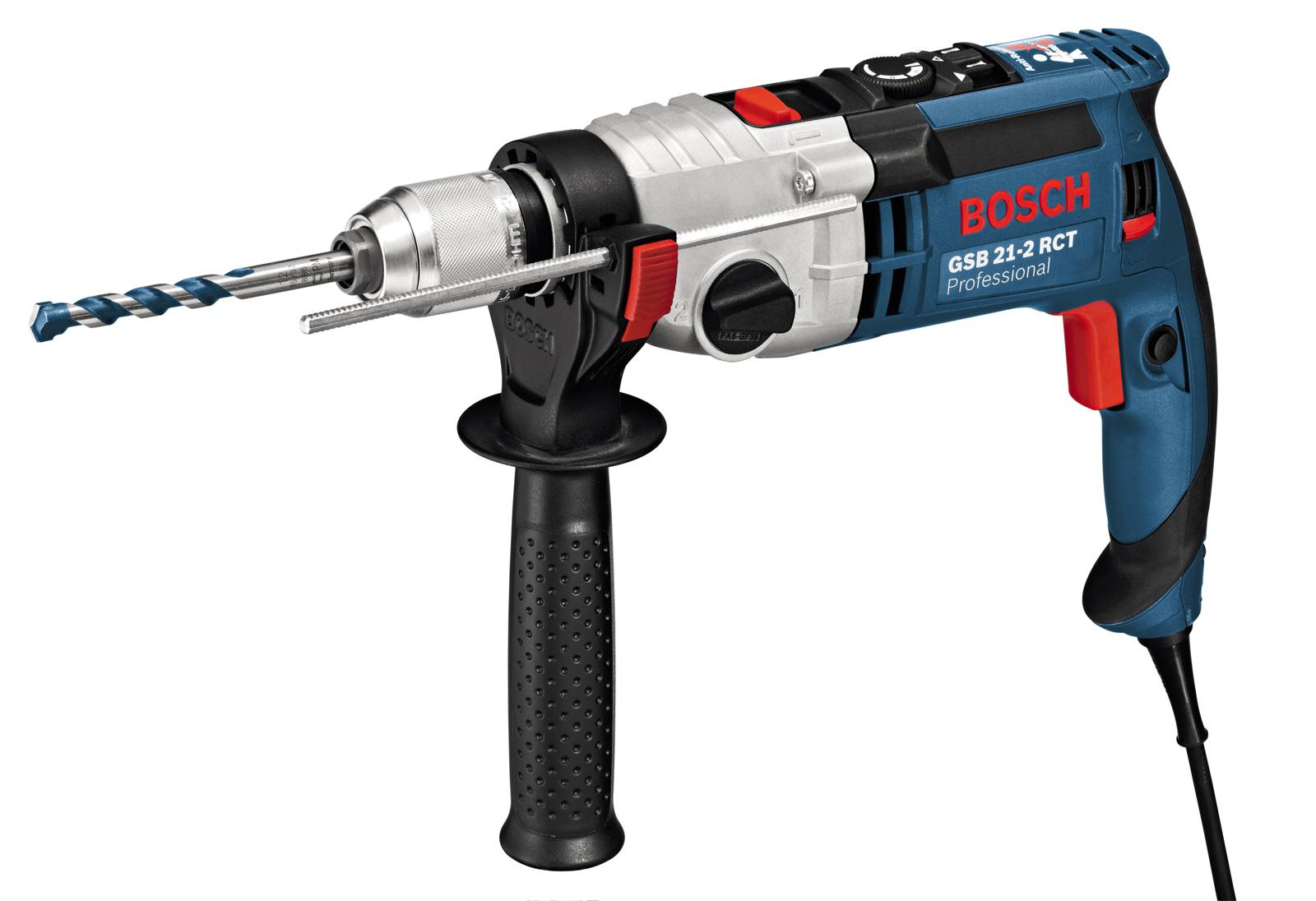 Дрель ударная Bosch Gsb 21-2 rct