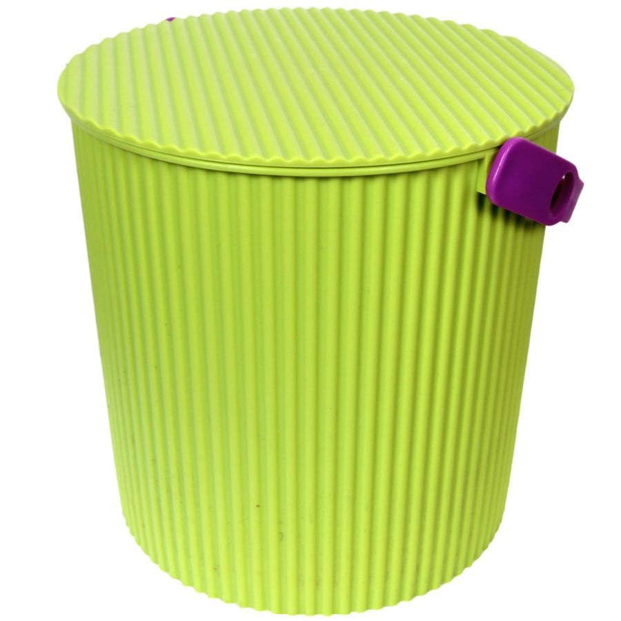 Ведро-стул ИЗУМРУД 101-зеленое