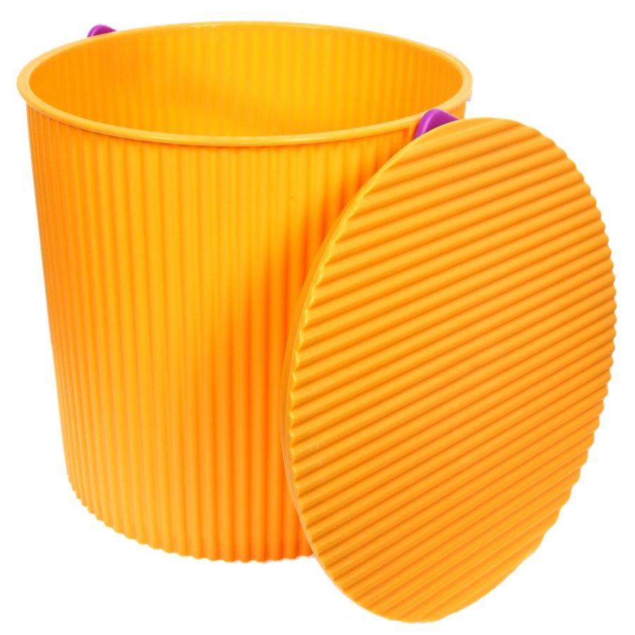Ведро-стул ИЗУМРУД 103-желтое