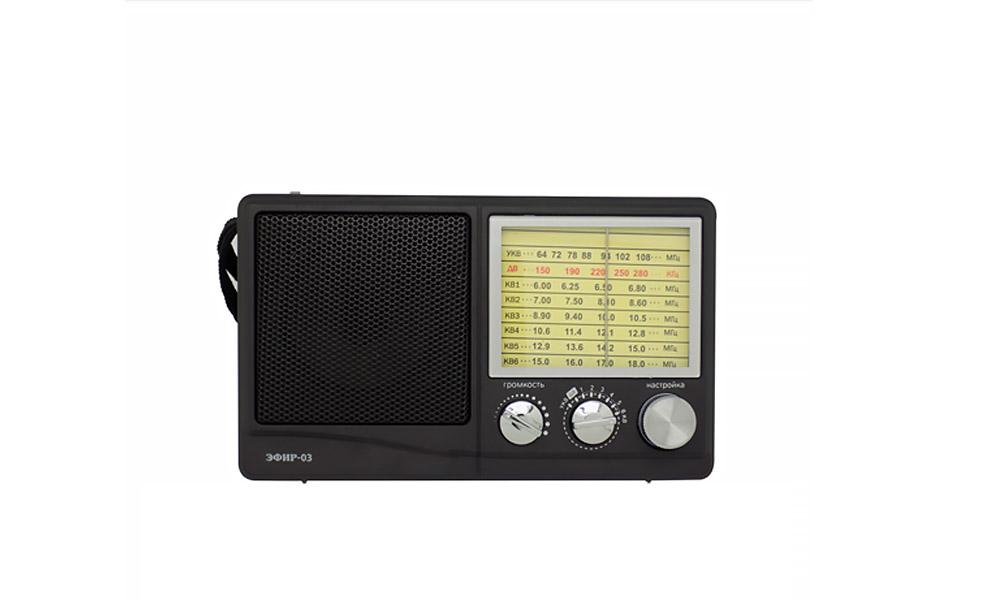 Радио ЭФИР 03 УКВ-ДВ-КВ1-6