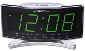 Часы-радио First Fa-2416 mt.grey