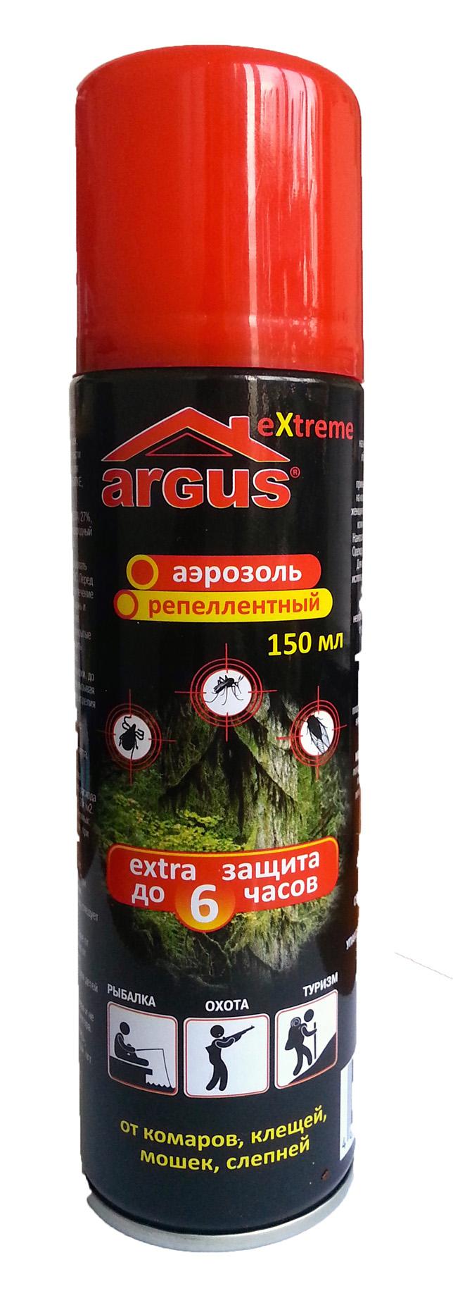 Аэрозоль-репеллент Argus СЗ.010022
