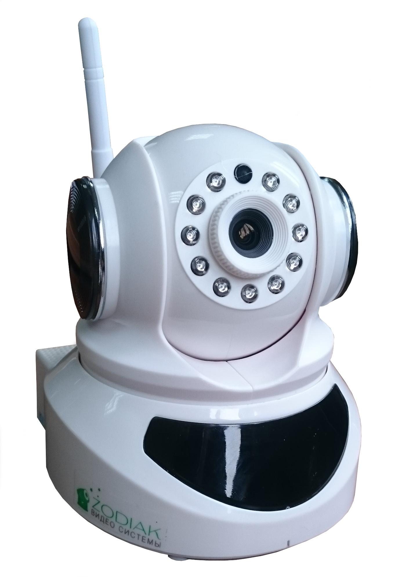 Камера видеонаблюдения Zodiak с датчиком движения и открытия zodiak 909 hone safety