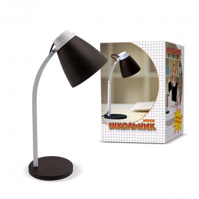 Лампа настольная ШКОЛЬНИК S-160 черная