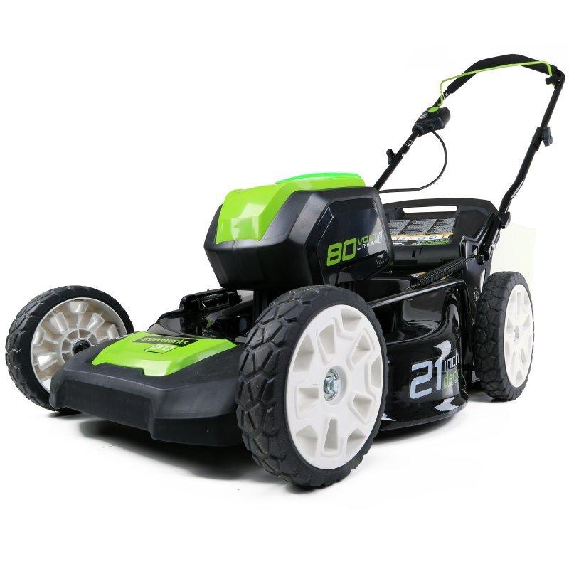 Аккумуляторная газонокосилка Greenworks Gd80lm53 (2500707)