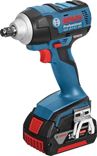 Гайковерт аккумуляторный Bosch Gds 18 v-ec 250 06019d8102
