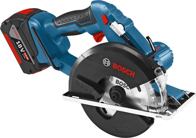 Пила циркулярная Bosch Gkm 18 v-li 06016a4001